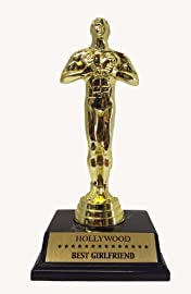 HOLLYWOOD BEST GIRLFRIEND TROPHY