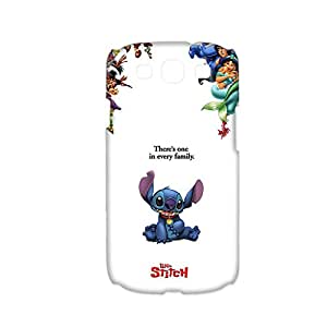 Unique Phone Cases For Girly Custom Design With Cute Stitch For Samsung I9300 Choose Design 1-2