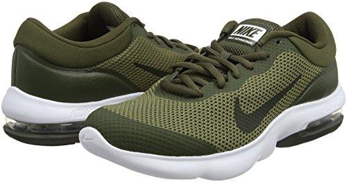 Nike Air Max Advantage, Scarpe Running Uomo Verde (Olive Moyen/Séquoia/Kaki Cargo/Blanc)
