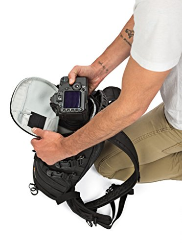 "41cZIsKwiOL - Lowepro ProTactic 350 AW - A Professional Camera Backpack for 1-2 Pro DSLR Cameras and 13"" Laptop"