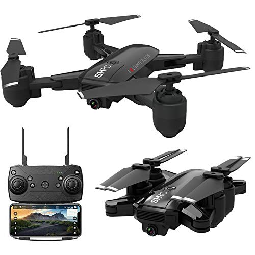 LikeroDrone x pro 5G Selfi WiFi FPV GPS,with 1080P HD Camera,Foldable RC Quadcopter,Beginners-Controlled Through The Mobile Phone App-One-Key Start&one-Key Landing (Black) by Likero (Image #6)