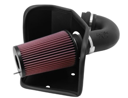 K&N Performance Cold Air Intake Kit 57-1525 with Lifetime Filter for 1994-2002 Dodge Ram 5.0L Cummins Diesel