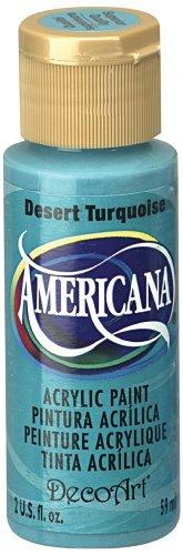 DecoArt Americana Acrylic 2 Ounce Turquoise