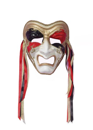 Forum Tragedy Mask, Multi-Colored, One Size
