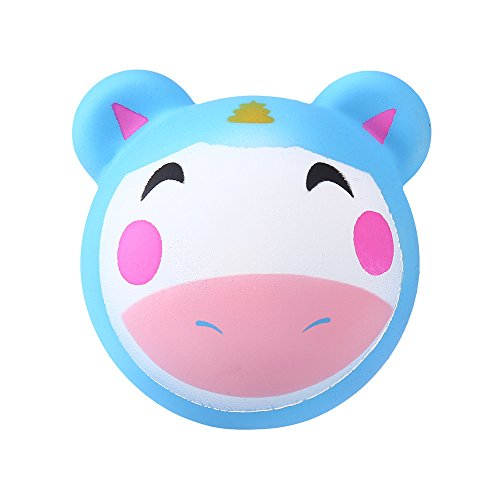 (Slow Rising Animals Squishies Squeeze Kids Toy Stress Reliever Aid Mobile Toy H)