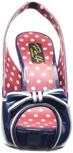 De nbpt Zapatos Tacón Azul Mujer Para Pleaser Bett05 q6wtRcP