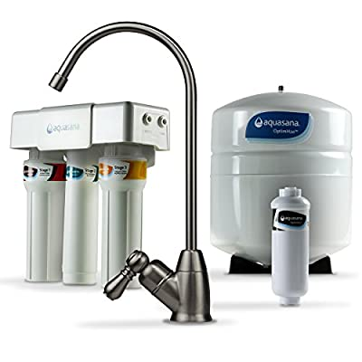 Aquasana AQ-RO-3.62 OptimH2O Reverse Osmosis Fluoride Water Filter, Oil Rubbed Bronze