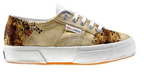 Superga scarpe personalizzate con Old Texture (Prodotto Artigianale)