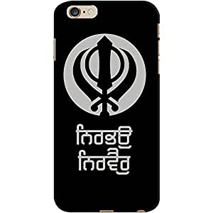 DailyObjects Nirbhau Nirvair Case For iPhone 6 Plus