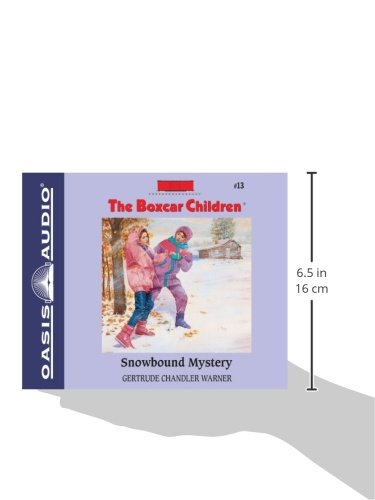 Snowbound Mystery (Library Edition) (The Boxcar Children Mysteries) by Oasis Audio (Image #2)