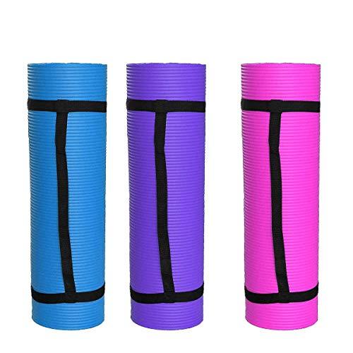 NIEUWE 183 * 61 * 1.5 cm Dikte Antislip Yoga Mat Sport Gym Zachte Pilates Matten Opvouwbaar voor Body Building Fitness…