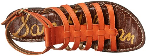 Sam Gilda Women's Gladiator Orange Sandal Edelman qqgaU0p