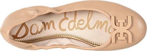 Sam Edelman Womens Florence Ballet Flat Classic Nude Nappa Luva Leather