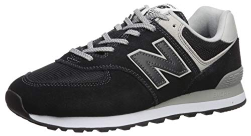 New Balance Men's 574v2 Evergreen Lifestyle Sneaker, Black, 15 2E US