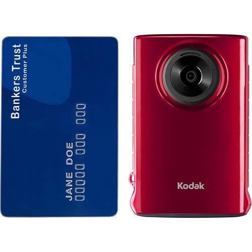 Kodak Mini Video Camera with SD Card (RED) (Kodak Waterproof Camcorder)