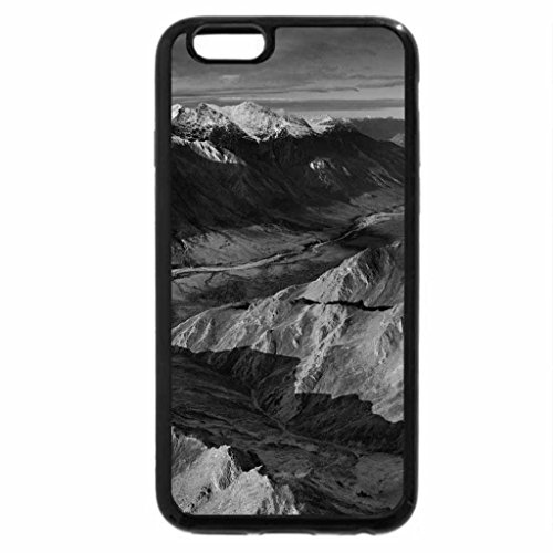 iPhone 6S Case, iPhone 6 Case (Black & White) - Tinayguk River