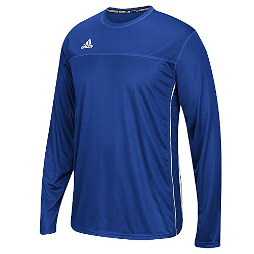 Adidas Climacool Mens Long Sleeve Utility Soccer Jersey XS Royal/White ()