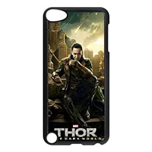 ipod touch 5 phone cases Black Thor The Dark World cell phone cases Beautiful gift YTRE9358149