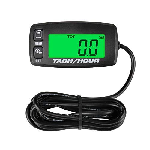 Runleader Urenteller Toerenteller, Onderhoudsherinnering, Alert RPM, Verlicht display, Batterij vervangbaar, Gebruik…