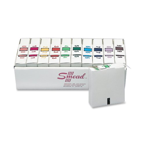 smead-bccrn-bar-style-color-coded-numeric-label-0-9-label-roll-assorted-colors-67380