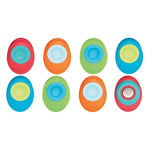 OXO Good Grips Magnetic Mini Clips (8 Pack) - Assorted Bright