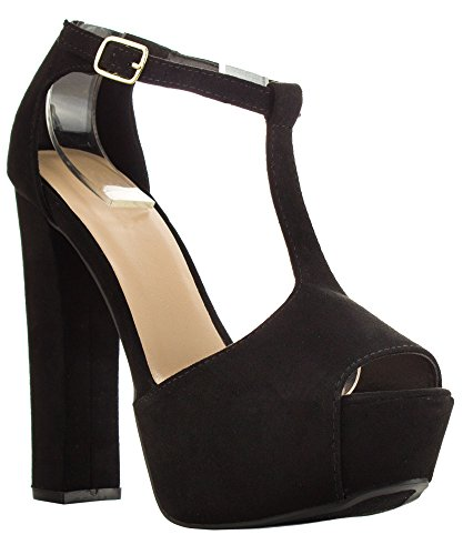 RF-ROOM-OF-FASHION-Womens-Peep-Toe-Mary-Jane-Ankle-Strap-Chunky-Platform-Heel-Pump-Heeled-Sandals