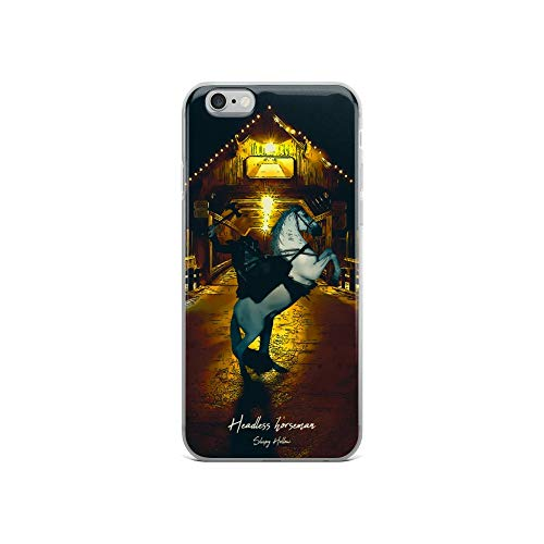 iPhone 6/6s Case Anti-Scratch Motion Picture Transparent Cases Cover Headless Horseman Sleepy Hollow Movies Video Film Crystal -