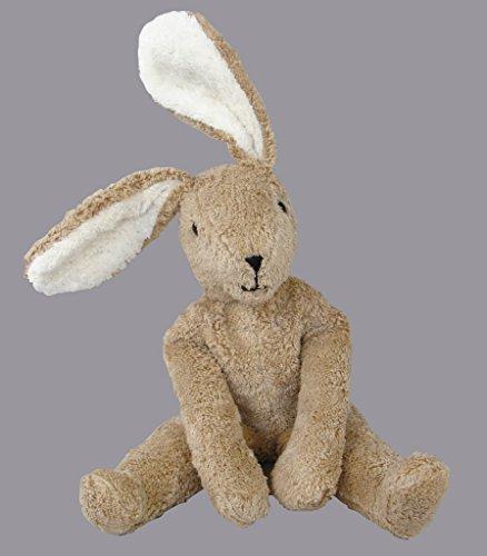 "Senger Stuffed Animals - Floppy Bunny Rabbit - Handmade 100% Organic Toy Large Size 16"" Tall - Beige"