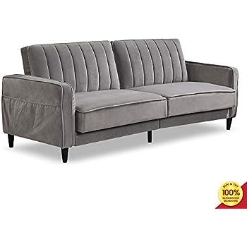 Amazon.com: US Pride Furniture - Sofá cama de ratán, Seda ...