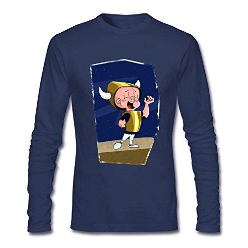 tommery-mens-elmer-fudd-long-sleeve-cotton-t-shirt