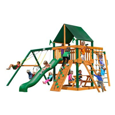 Swing Set with Canopy in - Wiki Navigators
