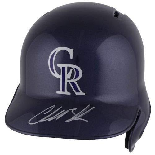 CHARLIE BLACKMON Autographed Colorado Rockies Batting Helmet ()