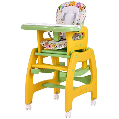 BABY 1ST BOOSTER SEAT WITH PLAY TRAY, GREEN - 6