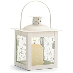 20 Wholesale Small White Lantern Wedding Centerpieces