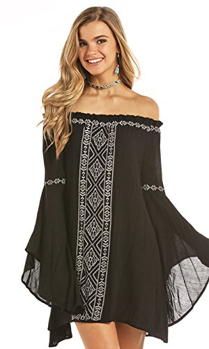 Rock & Roll Cowgirl Cascade Dress, Medium