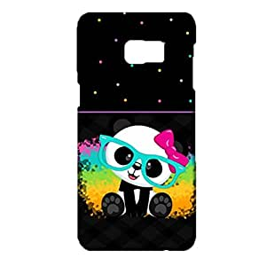 Samsung Galaxy S6 Edge Plus Phone Case Cute Bunny With Various Forms Print Cover Back Snap on Samsung Galaxy S6 Edge Plus Good Ventilation Mobile Shell