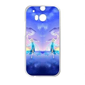 Happy Frozen Snow Queen Princess Elsa Cell Phone Case for HTC One M8