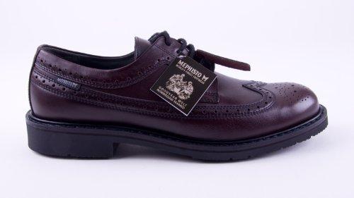 ville de Mephisto Wine Bordeaux homme lacets à pour Chaussures Marron 5E5TwnqS6