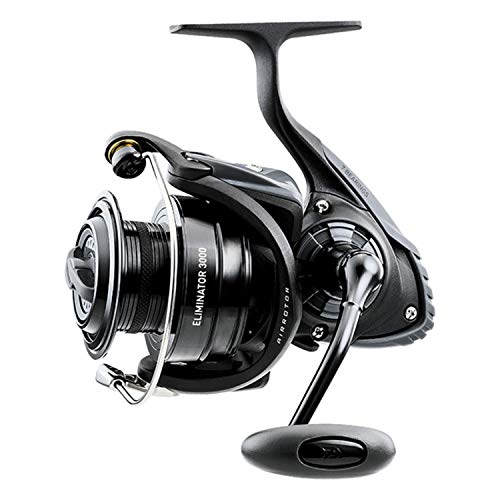 "Daiwa, Eliminator Spinning Reel, 4000, 5.7:1 Gear Ratio, 6 Bearings, 39.90"" Retrieve Rate, Ambidextrous"