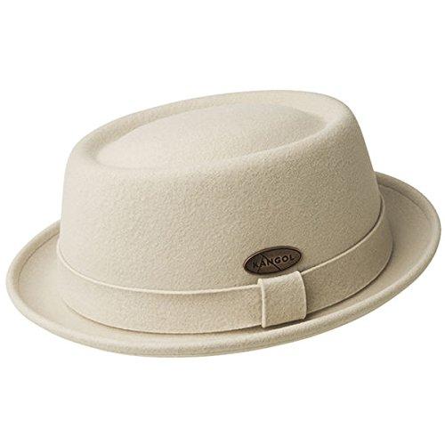 Kangol Adult's Lite Felt Pork Pie Hat, Sand XL