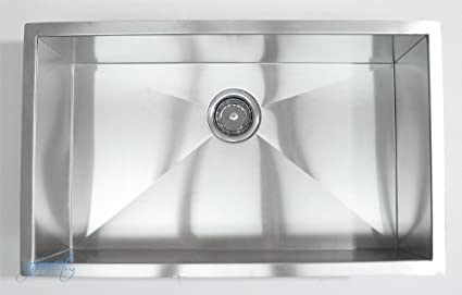 30 x 18 single bowl undermount kitchen sink - White Undermount Kitchen Sink