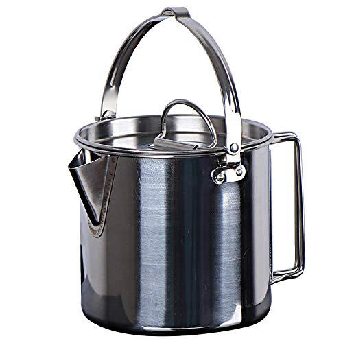 Chihee Camping Kettle Stainless Steel Outdoor Cooking Kettle