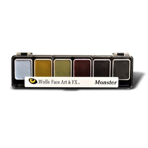 Wolfe F/X 6 Color Palette - Monster (Bruise Colors)