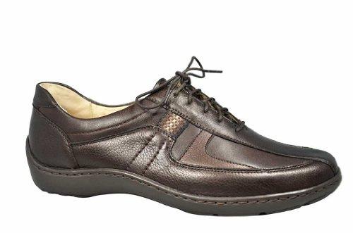 WALDLÄUFER HENNI 496000244049 Womens Lace-Up Shoe Brown BglT8tWru