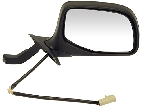 Dorman 955-266 Ford F-Series Power Black and Chrome Replacement Passenger Side - Bronco 96 Ford Mirror Door
