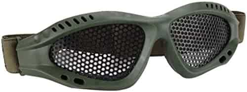 [Nerf Game Goggles] Safety Glasses Goggles Anti-explosion Outdoor Protective Eyewear (Army Green)