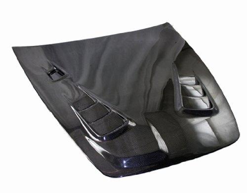 VIS Racing 00HDS2K2DSP-010C - Honda S2000 2Dr Sp Style Carbon Fiber Hood ()