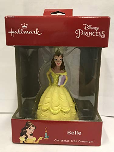 NEW Hallmark DISNEY PRINCESS BELLE of Beauty and the Beast Christmas Tree Ornament 2018