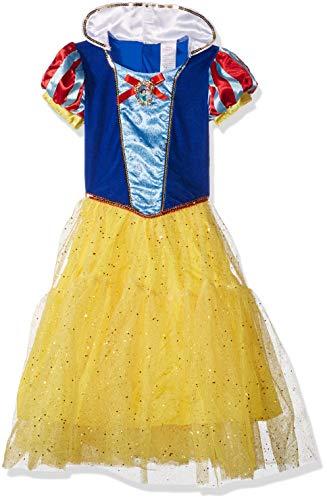 Deluxe Disney Princess Snow White Costume, One Color, -