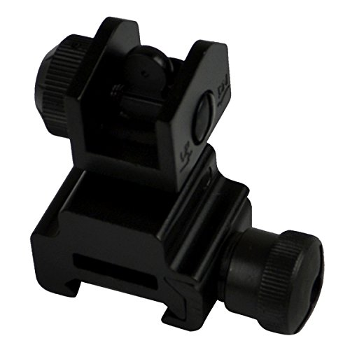 - Sniper Flip-up Rear Sight with Dual Aiming Aperture